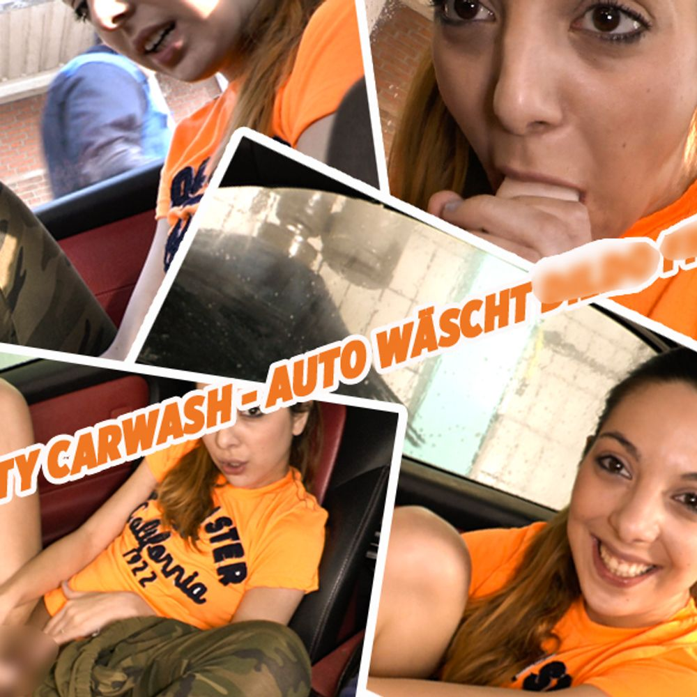 Dirty Carwash - Auto wäscht, Dildo fickt